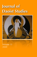 Journal of Daoist Studies cover