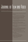 Journal of Film and Video cover