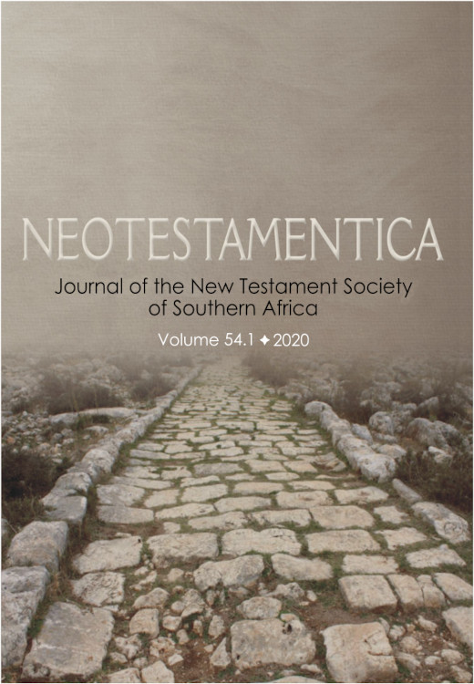Neotestamentica: Volume 54, Number 1, 2020