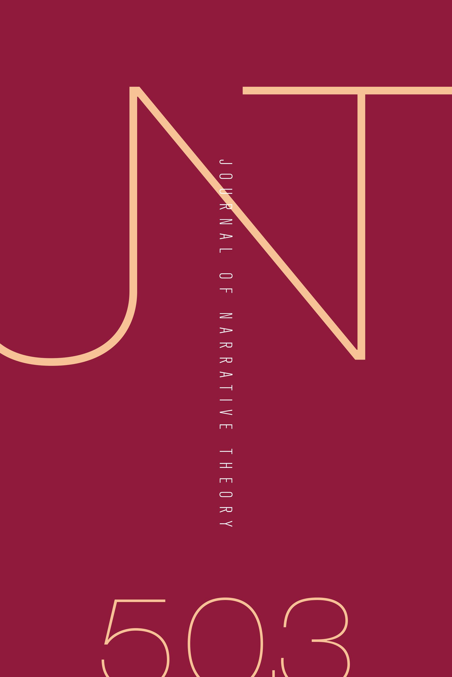 Journal of Narrative Theory: Volume 50, Number 3, Fall 2020