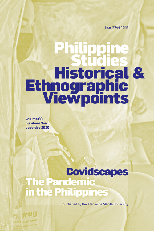 Philippine Studies: Historical and Ethnographic Viewpoints: Volume 68, Numbers 3-4, September-December 2020