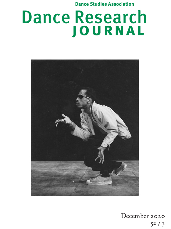 Dance Research Journal: Volume 52, Number 3, December 2020