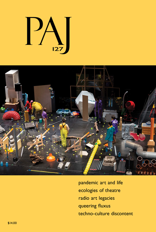 PAJ: A Journal of Performance and Art: Volume 43, Number 1, January 2021 (PAJ 127)