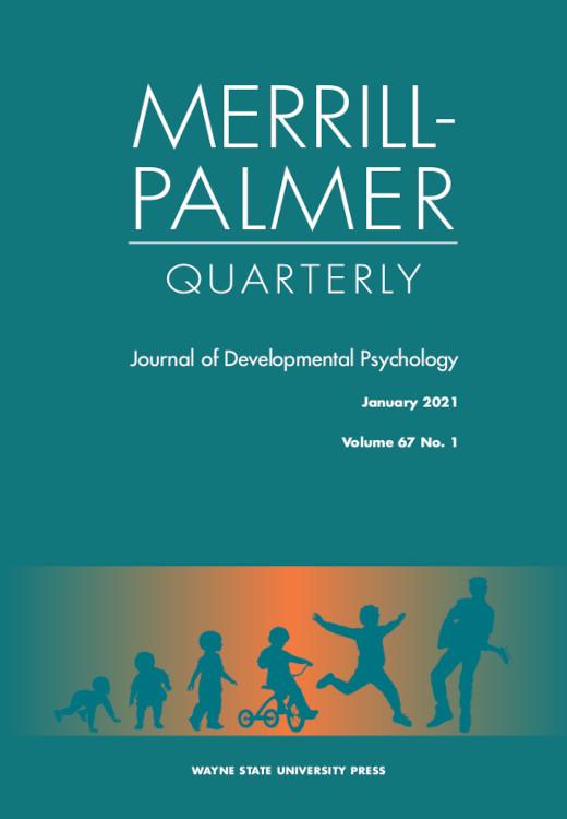 Merrill-Palmer Quarterly: Volume 67, Number 1, January 2021
