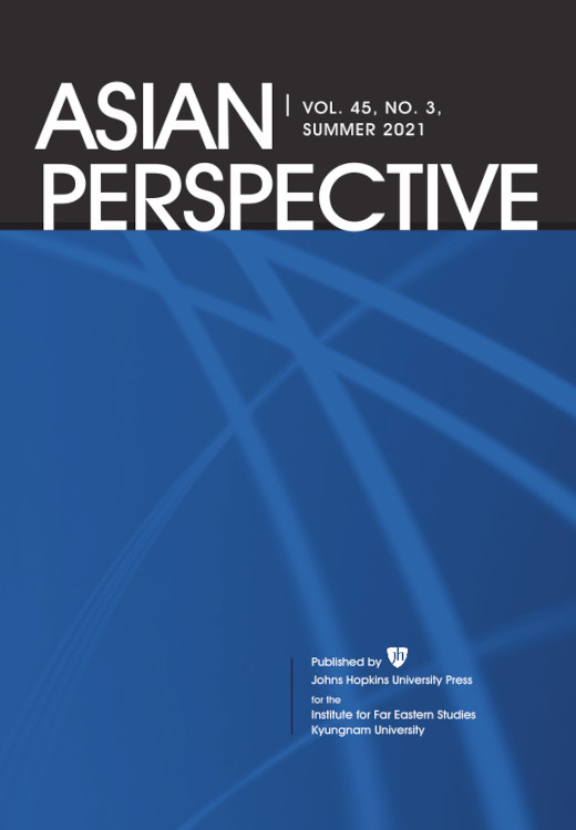 Asian Perspective: Volume 45, Number 3, Summer 2021