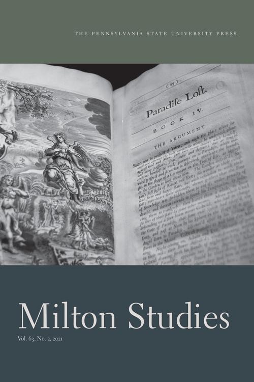 Milton Studies: Volume 63, Number 2, 2021