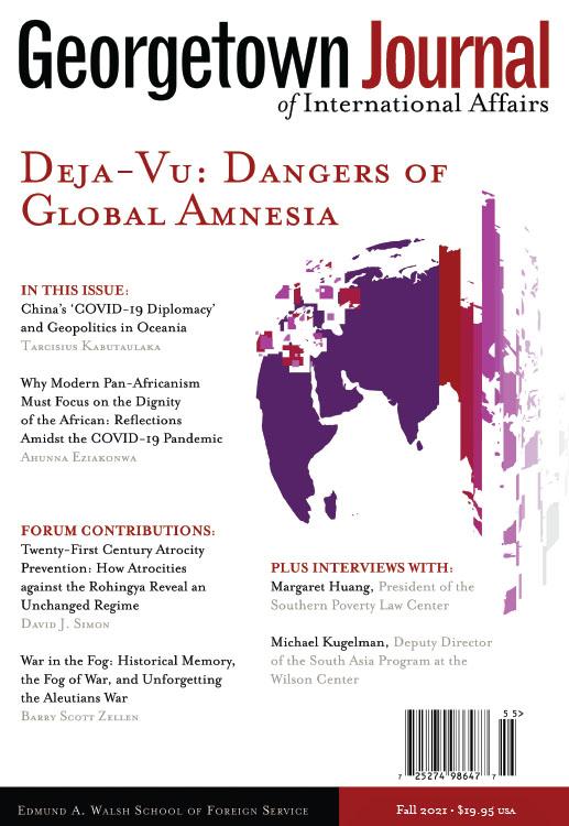 Georgetown Journal of International Affairs: Volume 22, Number 2, Fall 2021