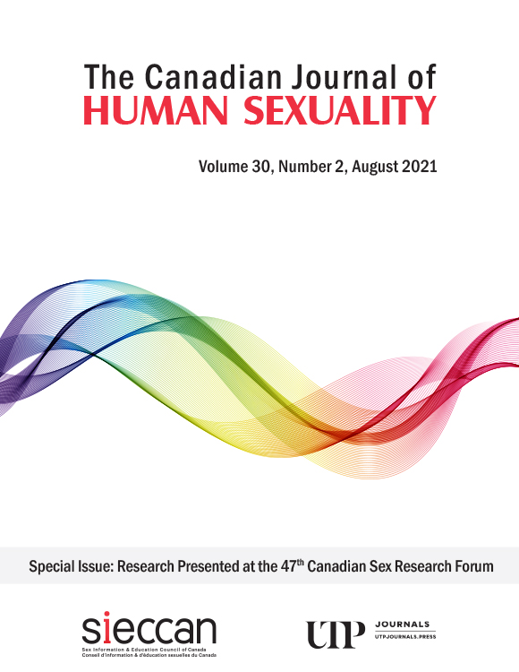The Canadian Journal of Human Sexuality: Volume 30, Number 2, August 2021