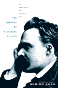 The Journal of Nietzsche Studies cover