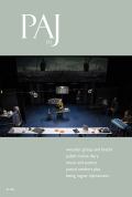 PAJ: A Journal of Performance and Art