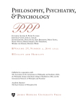 Philosophy, Psychiatry, & Psychology