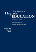 Critical Choices: From Adolescence to Maturity in Higher-Education Research