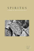 Spiritus: A Journal of Christian Spirituality