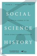 Blocking the Future: New Solutions for Old Problems in Historical Social Science