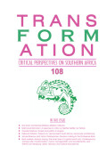 Transformation: Critical Perspectives on Southern Africa