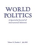 Transnational Civil Society and Advocacy in World Politics