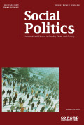 Social Politics: International Studies in Gender, State and Society cover