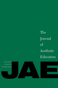 The Journal of Aesthetic Education cover