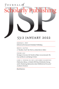 Journal of Scholarly Publishing