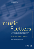 Music and Letters