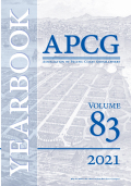 Yearbook of the Association of Pacific Coast Geographers cover