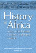 Denying History in Colonial Kenya: The Anthropology and Archeology of G.W.B. Huntingford and L.S.B. Leakey