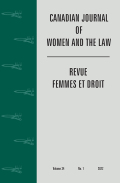 Canadian Journal of Women and the Law