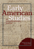 Early American Studies: An Interdisciplinary Journal