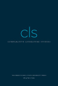 Comparative Literature Studies cover