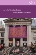 Journal of Canadian Studies/Revue d'études canadiennes