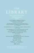The Library: The Transactions of the Bibliographical Society