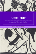 Seminar: A Journal of Germanic Studies