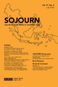 Sojourn: Journal of Social Issues in Southeast Asia
