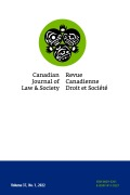 Canadian Journal of Law and Society