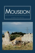 Mouseion: Journal of the Classical Association of Canada