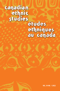 Canadian Ethnic Studies