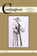 Contagion: Journal of Violence, Mimesis, and Culture