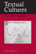 Textual Cultures:  Texts, Contexts, Interpretation
