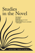 Studies in the Novel