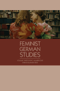 Women in German Yearbook: Feminist Studies in German Literature & Culture