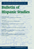 The Bulletin of Hispanic Studies