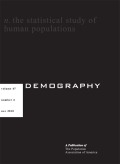 Demography cover