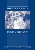<italic>Canadians and Their Pasts</italic> by Margaret Conrad et al. (review)