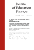 Journal of Education Finance