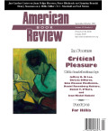 American Book Review cover