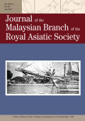 Journal of the Malaysian Branch of the Royal Asiatic Society