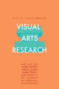 Visual Arts Research cover