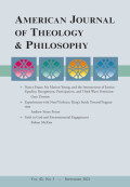 American Journal of Theology & Philosophy