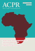 African Conflict & Peacebuilding Review cover