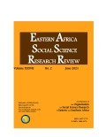 Eastern Africa Social Science Research Review